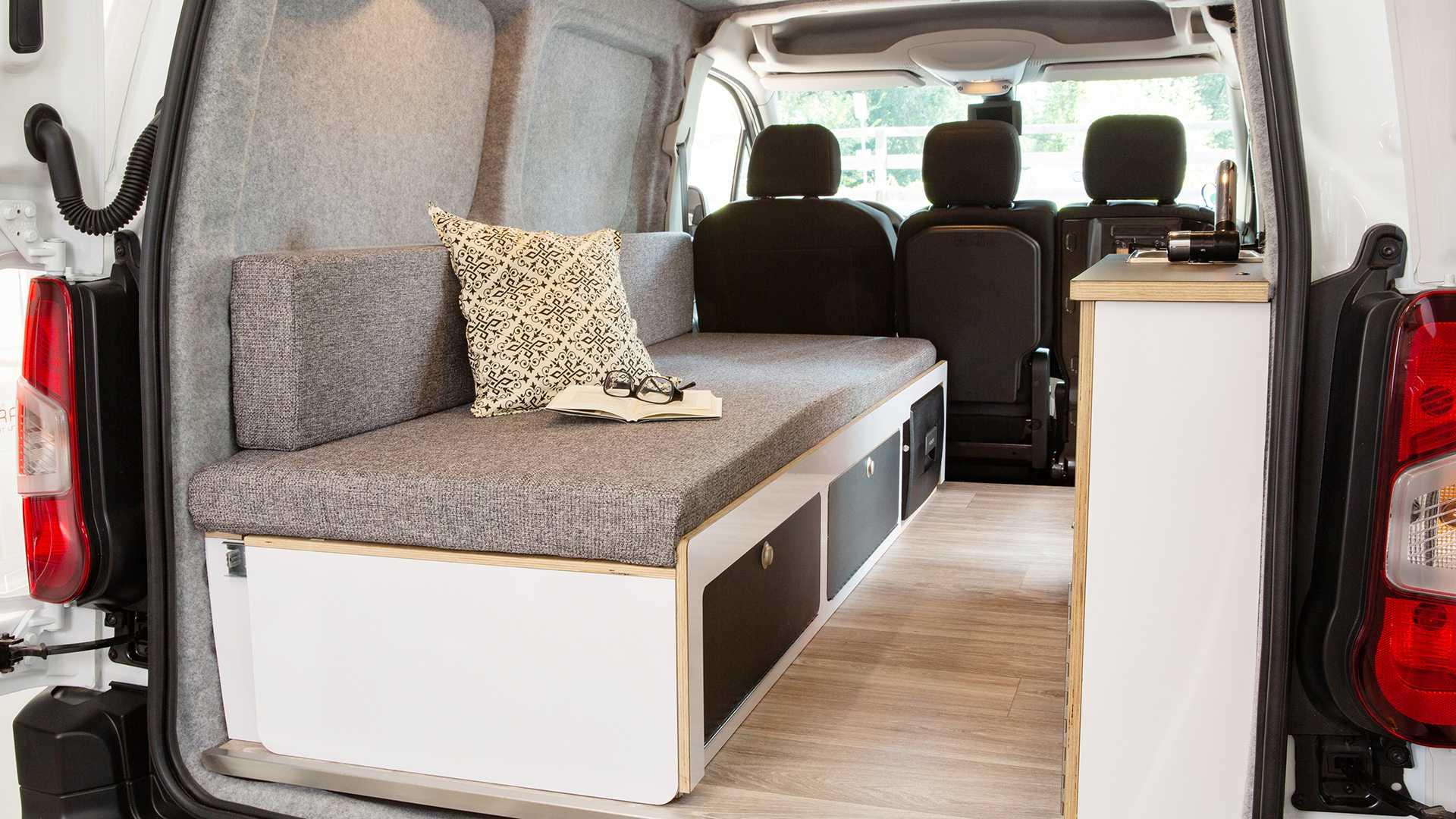 Peugeot Partner Alpin Camper To Debut At Caravan Salon 2019 Autoevolution