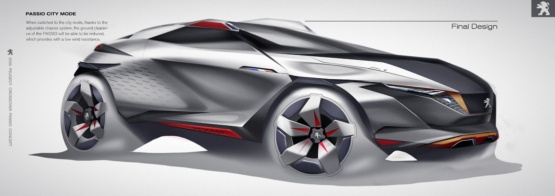 Peugeot PASSIO Is a 2030 Crossover That Will Put the \
