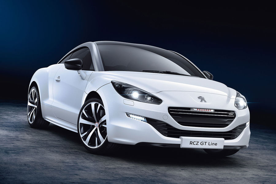 peugeot rcz gt line revealed with sportier look for basic coupe autoevolution