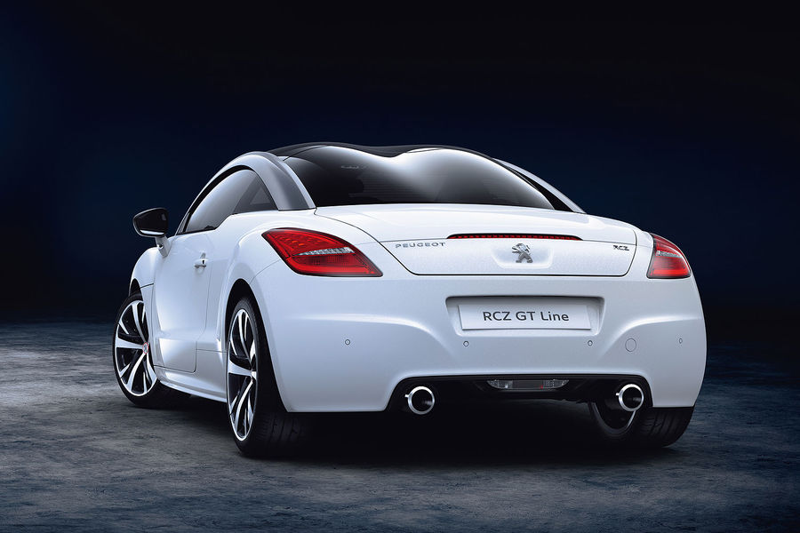 peugeot rcz gt-line revealed with sportier look for basic coupe