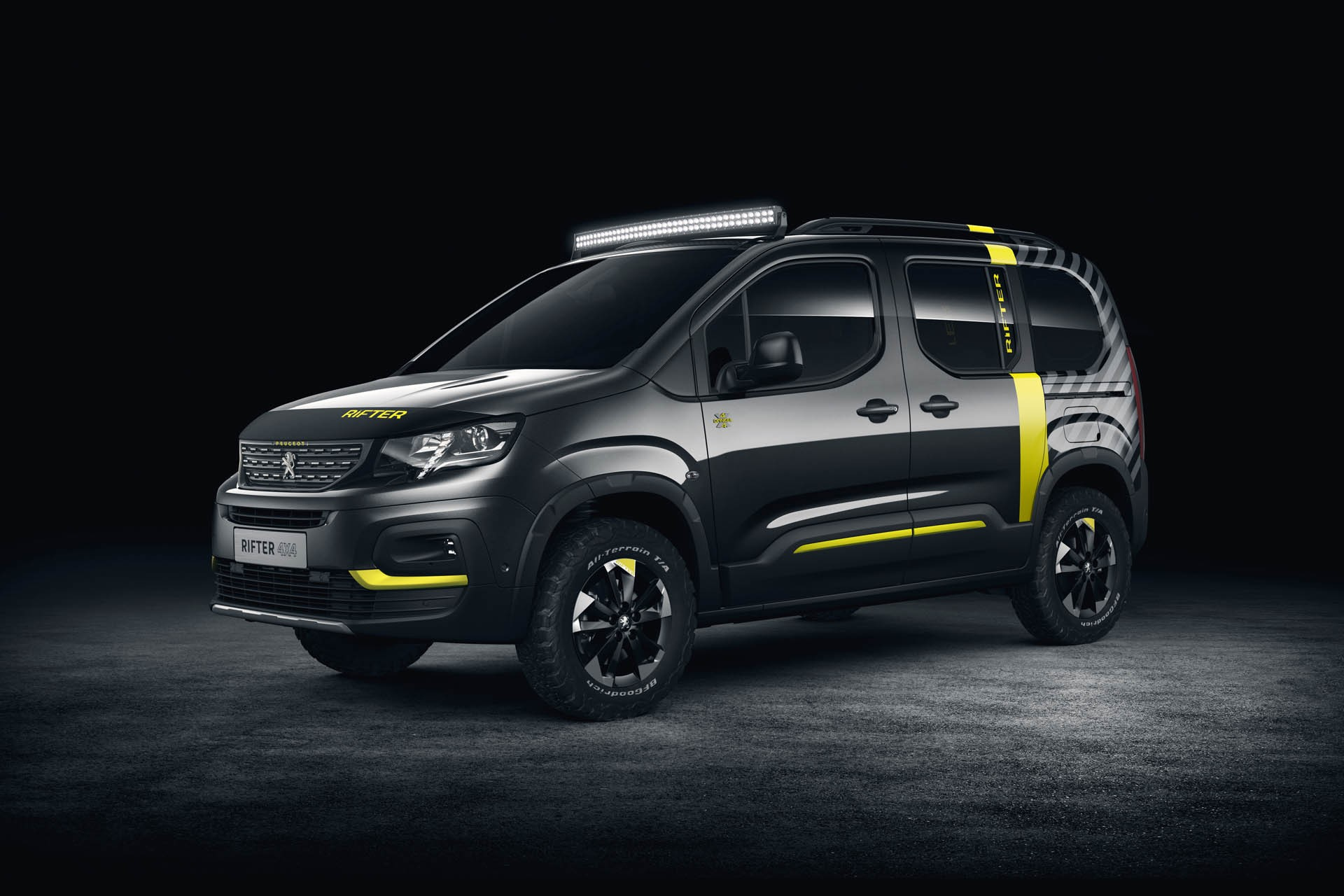 2018 peugeot rifter 4x4 is a turbo diesel powered concept car autoevolution. Black Bedroom Furniture Sets. Home Design Ideas