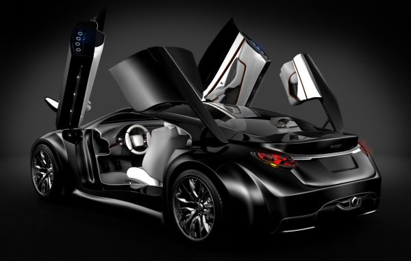 peugeot shine concept by piotr czyzewski autoevolution. Black Bedroom Furniture Sets. Home Design Ideas