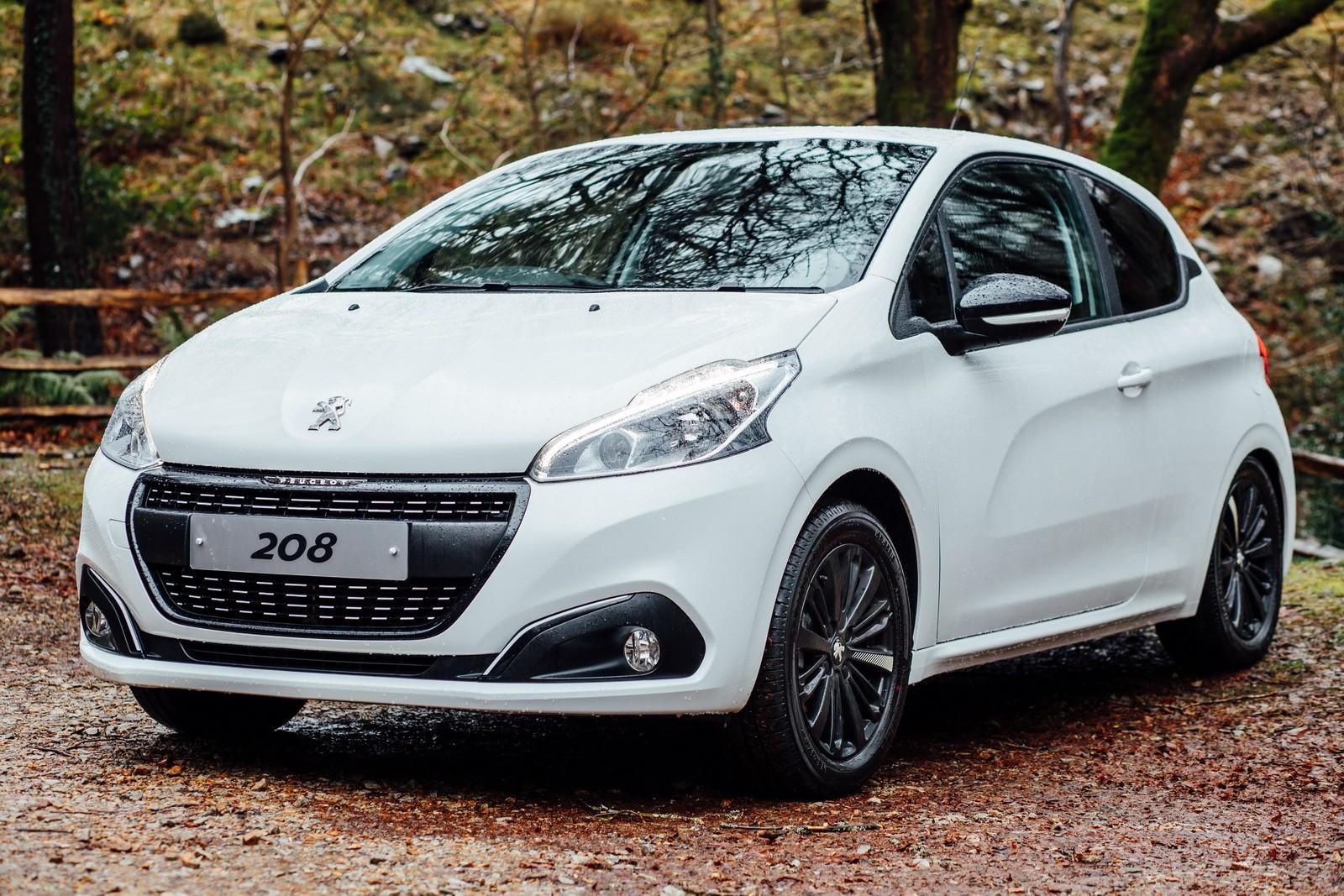 Peugeot Uk Introduces 208 Black Edition Autoevolution