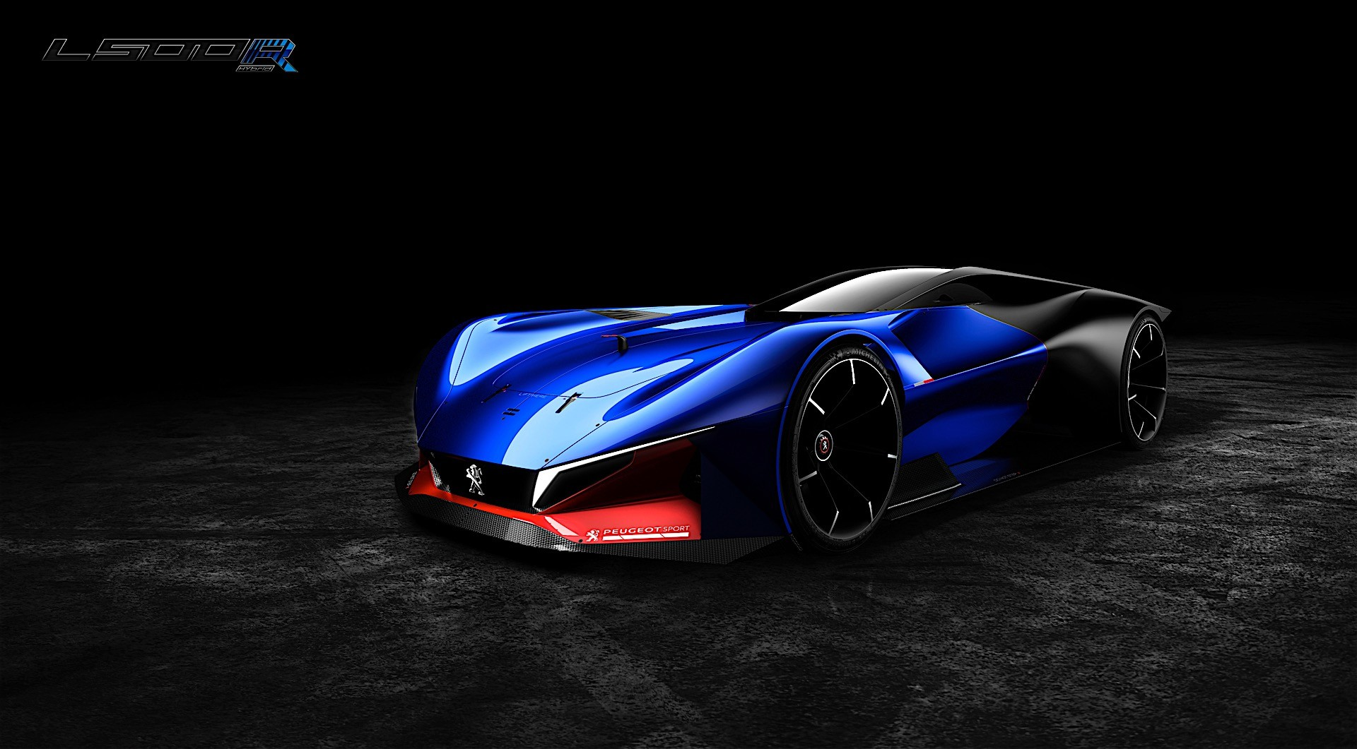 peugeot unveils l500 r hybrid concept to show how it sees the future of racing autoevolution. Black Bedroom Furniture Sets. Home Design Ideas
