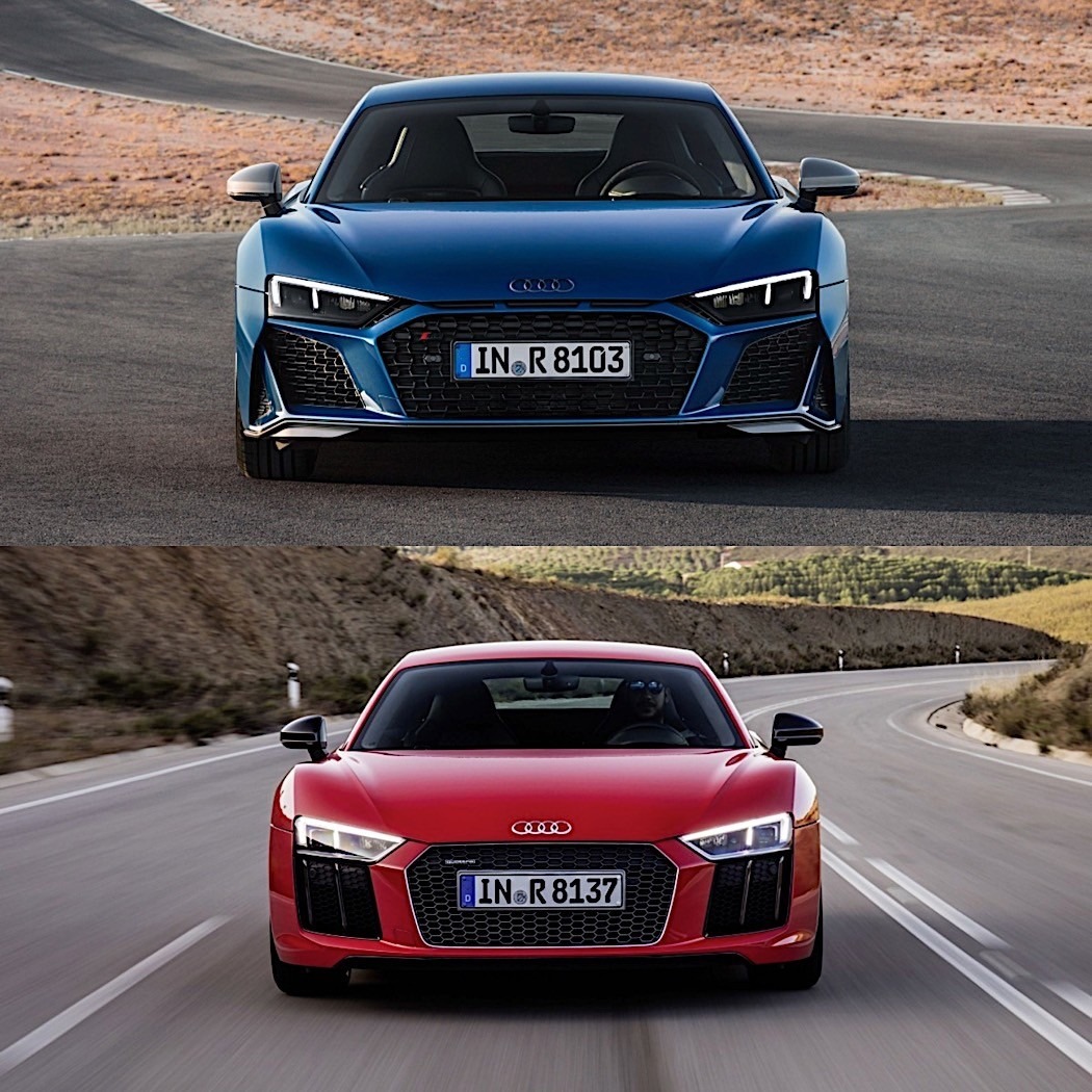 Photo Comparison: 2020 Audi R8 Vs. 2015 Audi R8