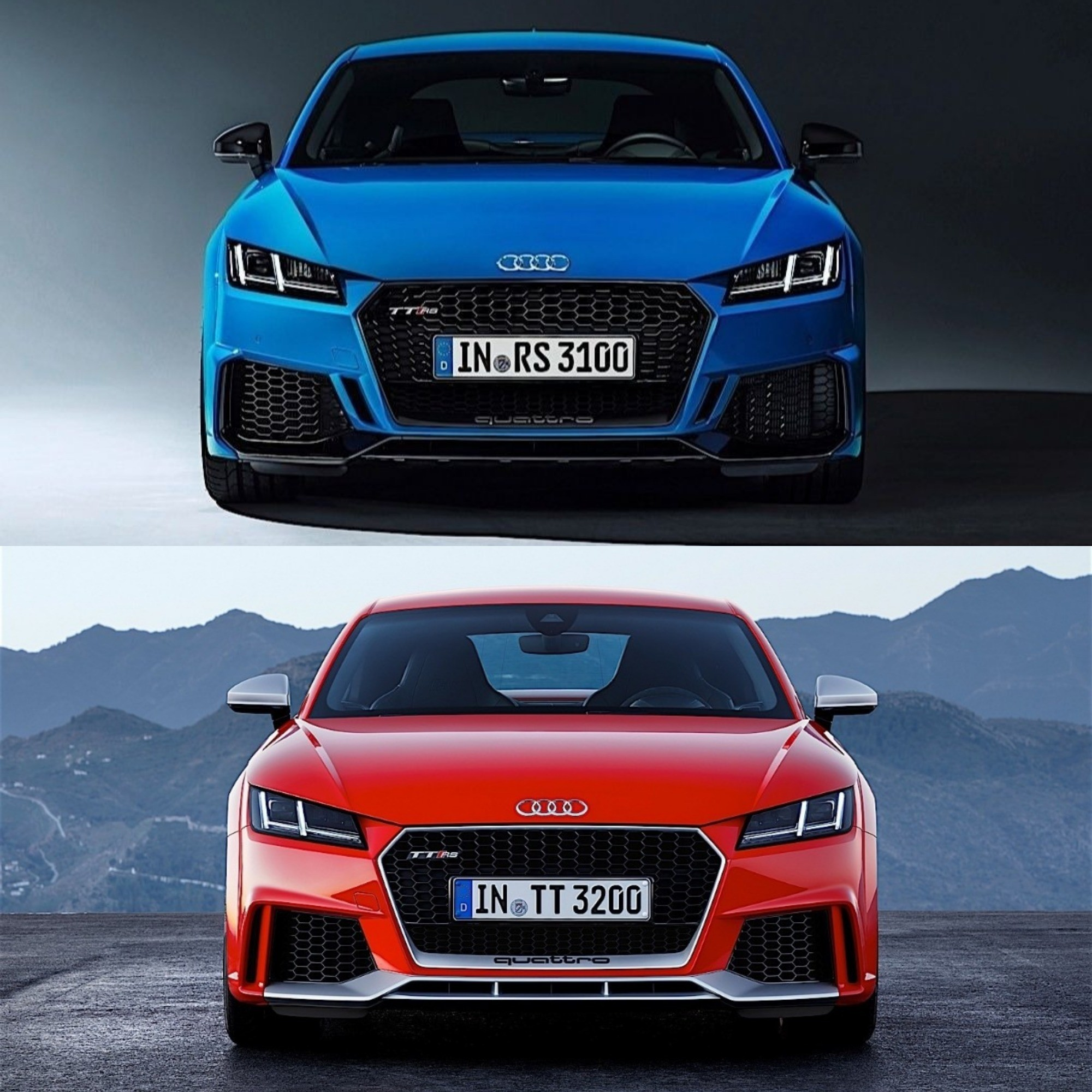 Photo Comparison: 2020 Audi TT RS Vs. 2016 Audi TT RS