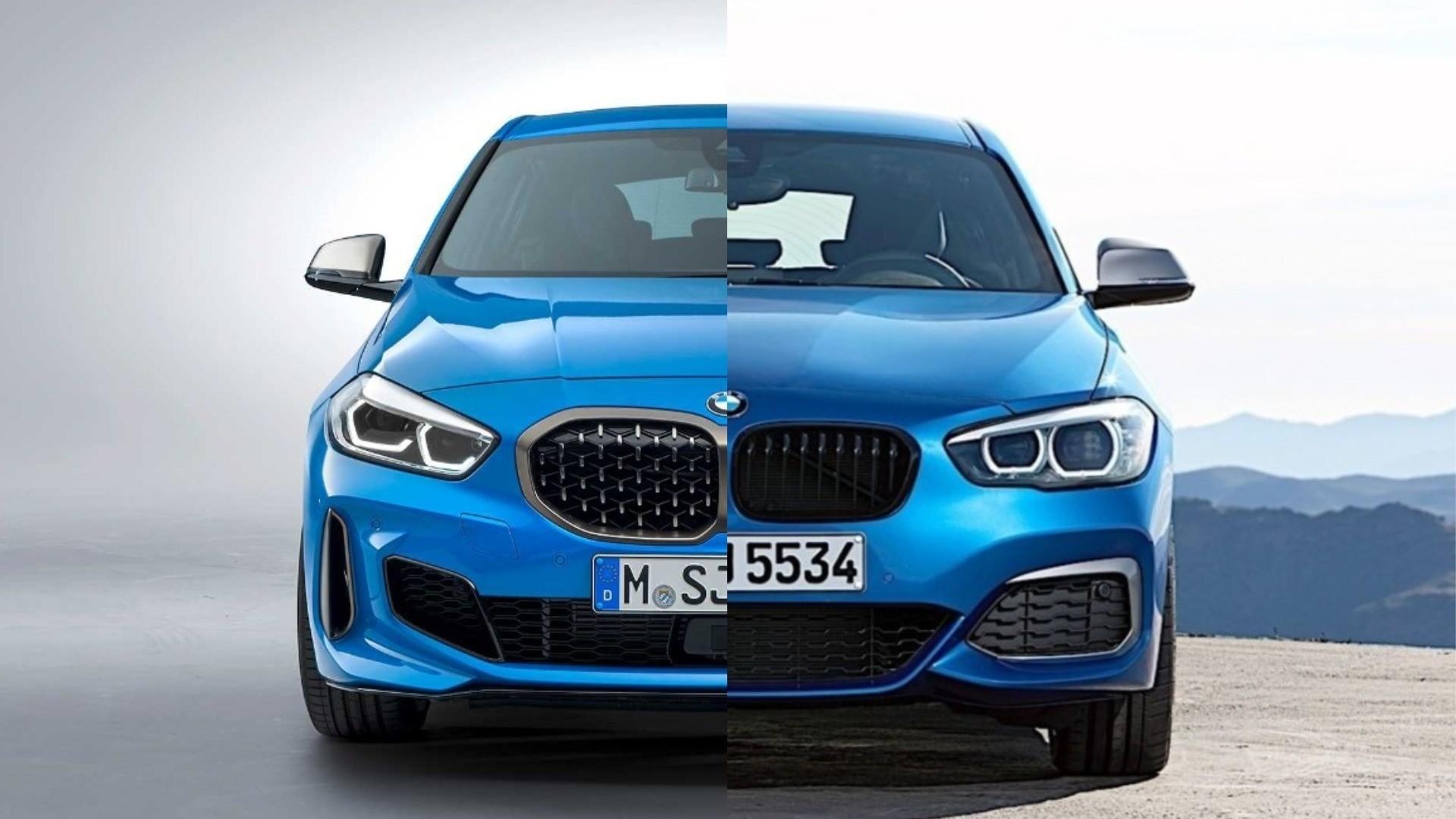 Photo Comparison: 2020 BMW 1 Series vs. 2017 BMW 1 Series ...