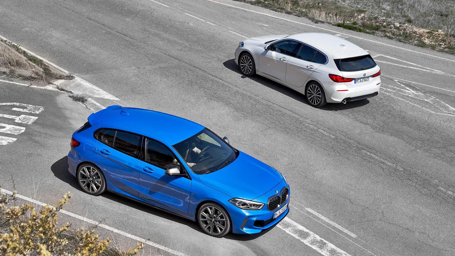 Bmw M8 Price >> Photo Comparison: 2020 BMW 1 Series vs. 2017 BMW 1 Series ...