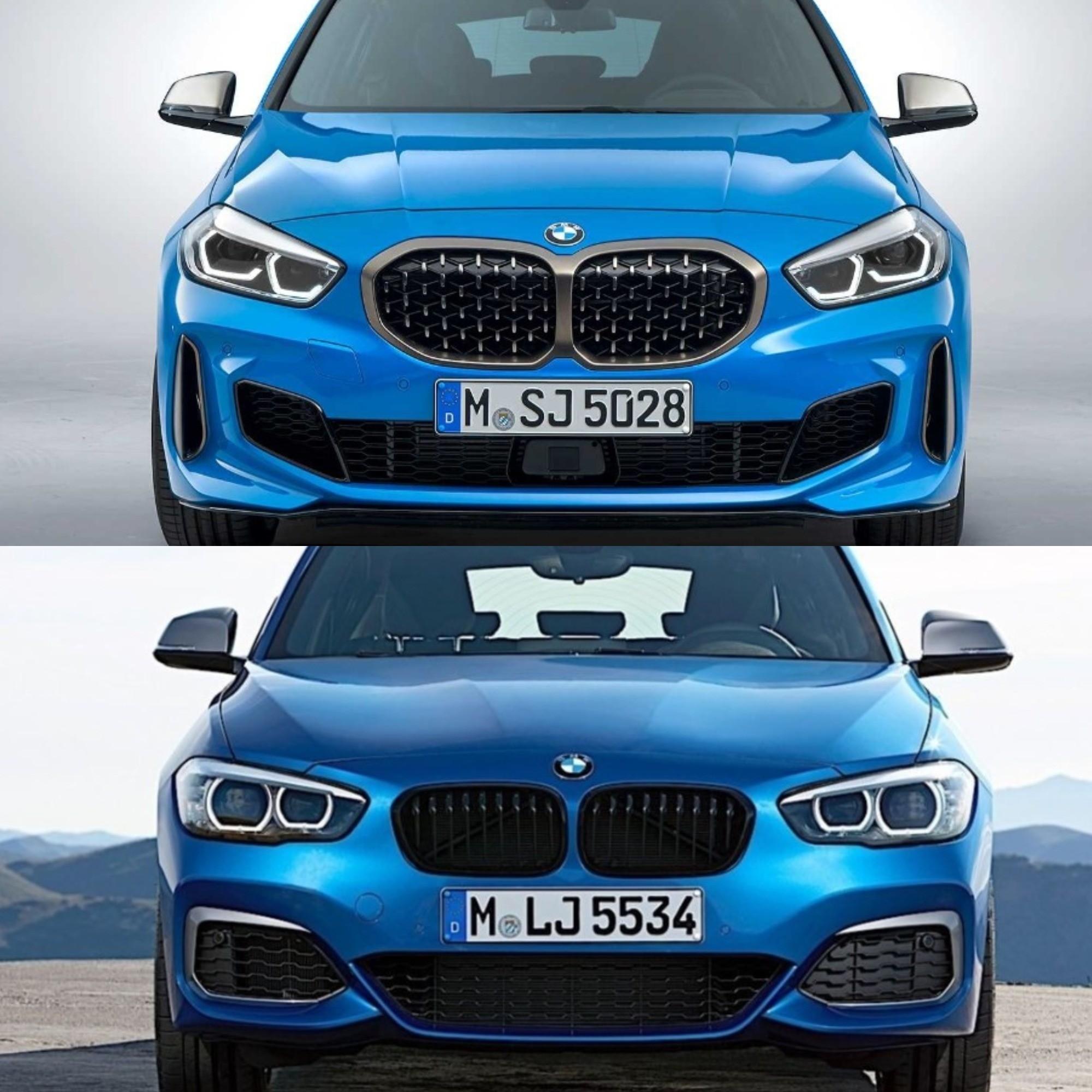 Photo Comparison: 2020 BMW 1 Series Vs. 2017 BMW 1 Series