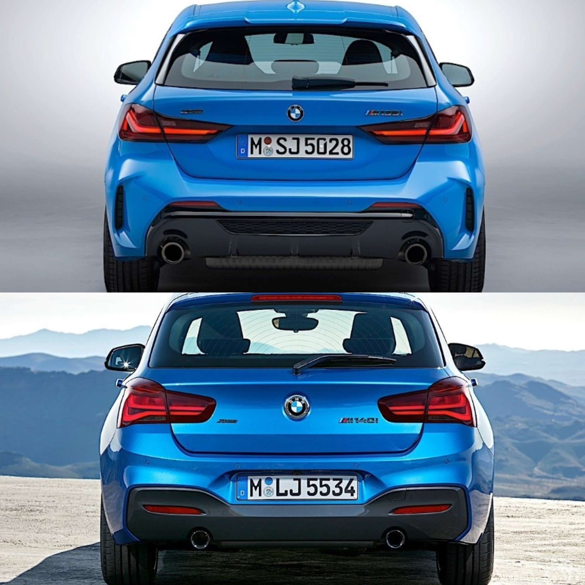 Bmw 2020: Photo Comparison: 2020 BMW 1 Series Vs. 2017 BMW 1 Series