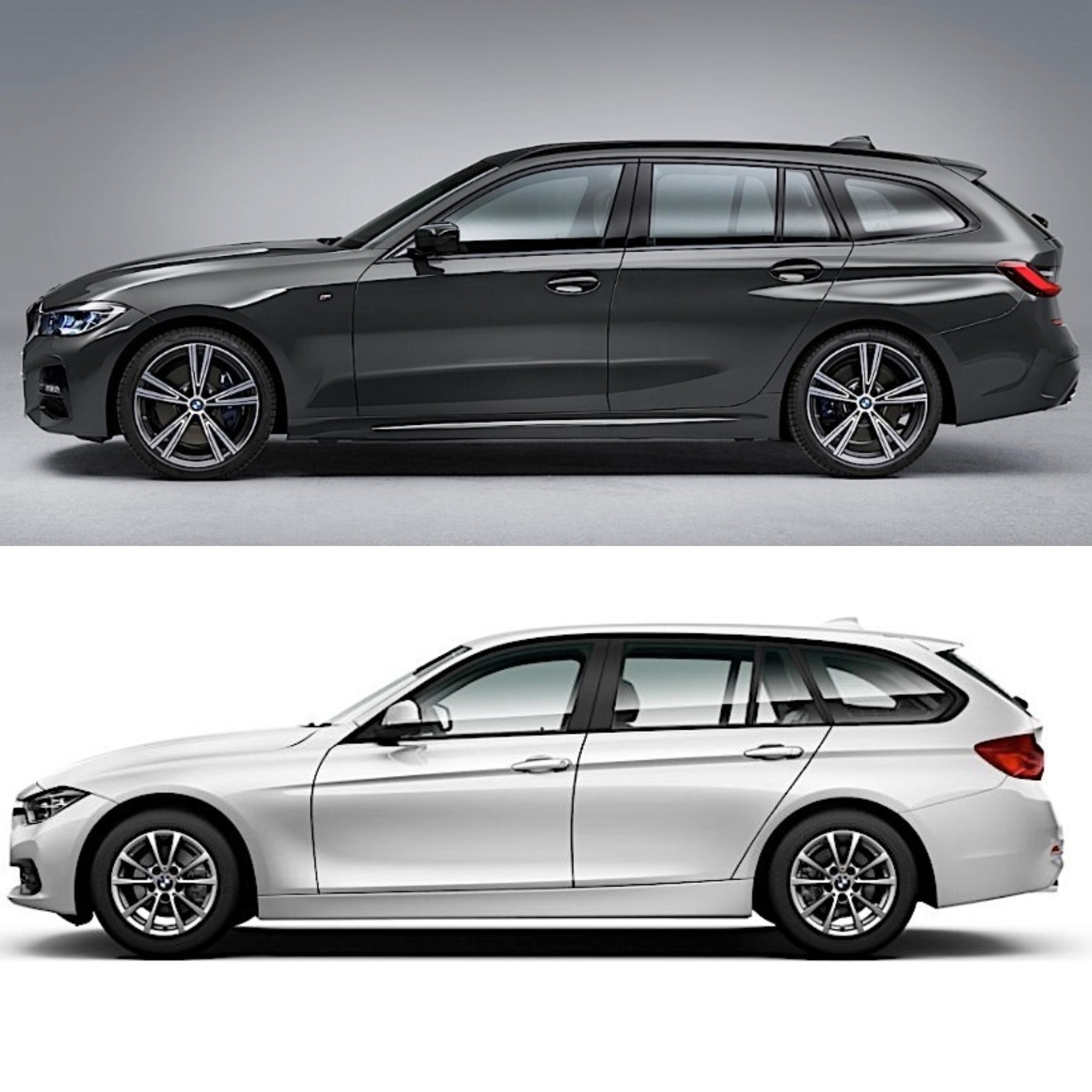 Photo Comparison: 2020 BMW 3 Series Touring Vs. 2016 BMW 3