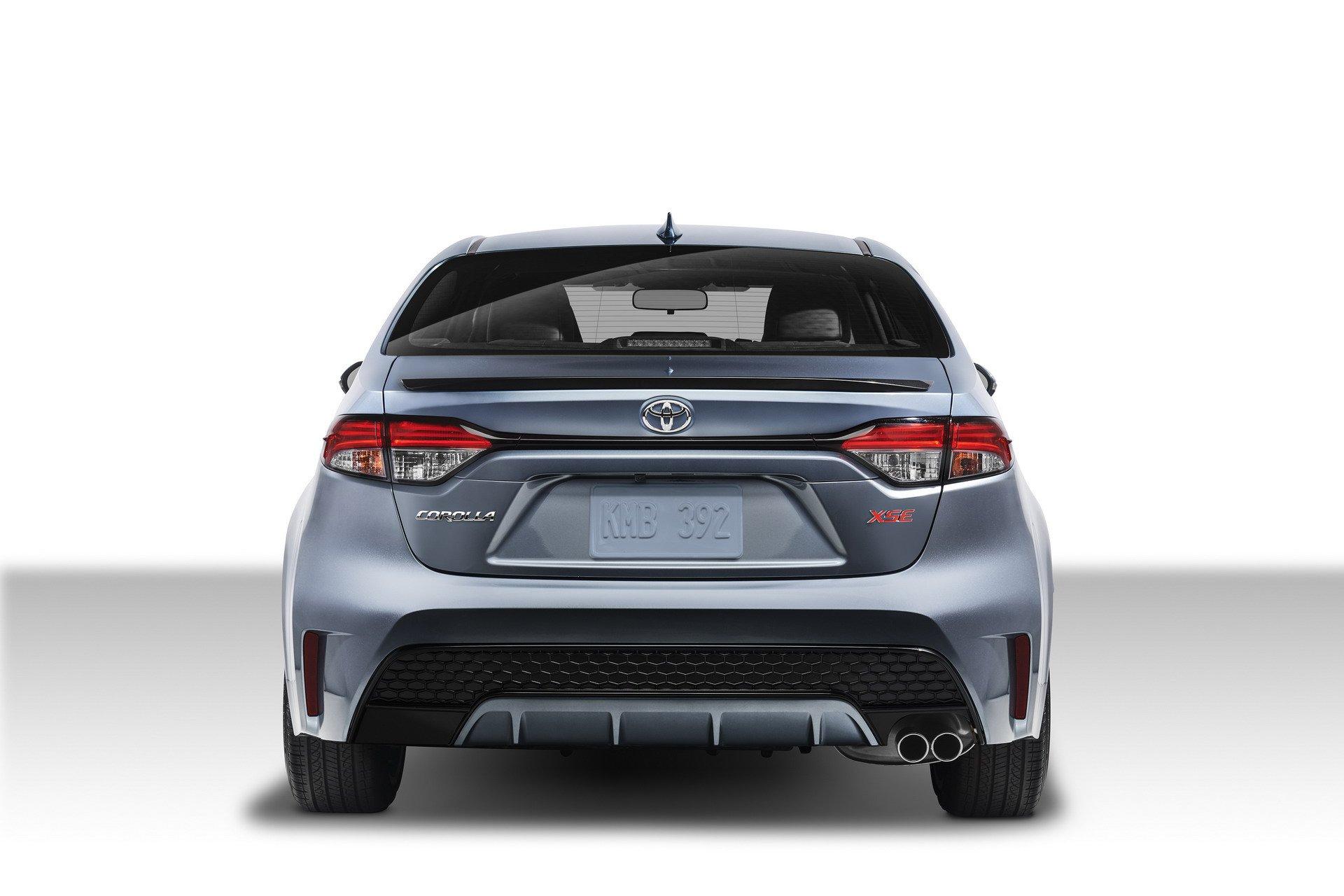 Photo Comparison 2020 Toyota Corolla Sedan Vs 2014