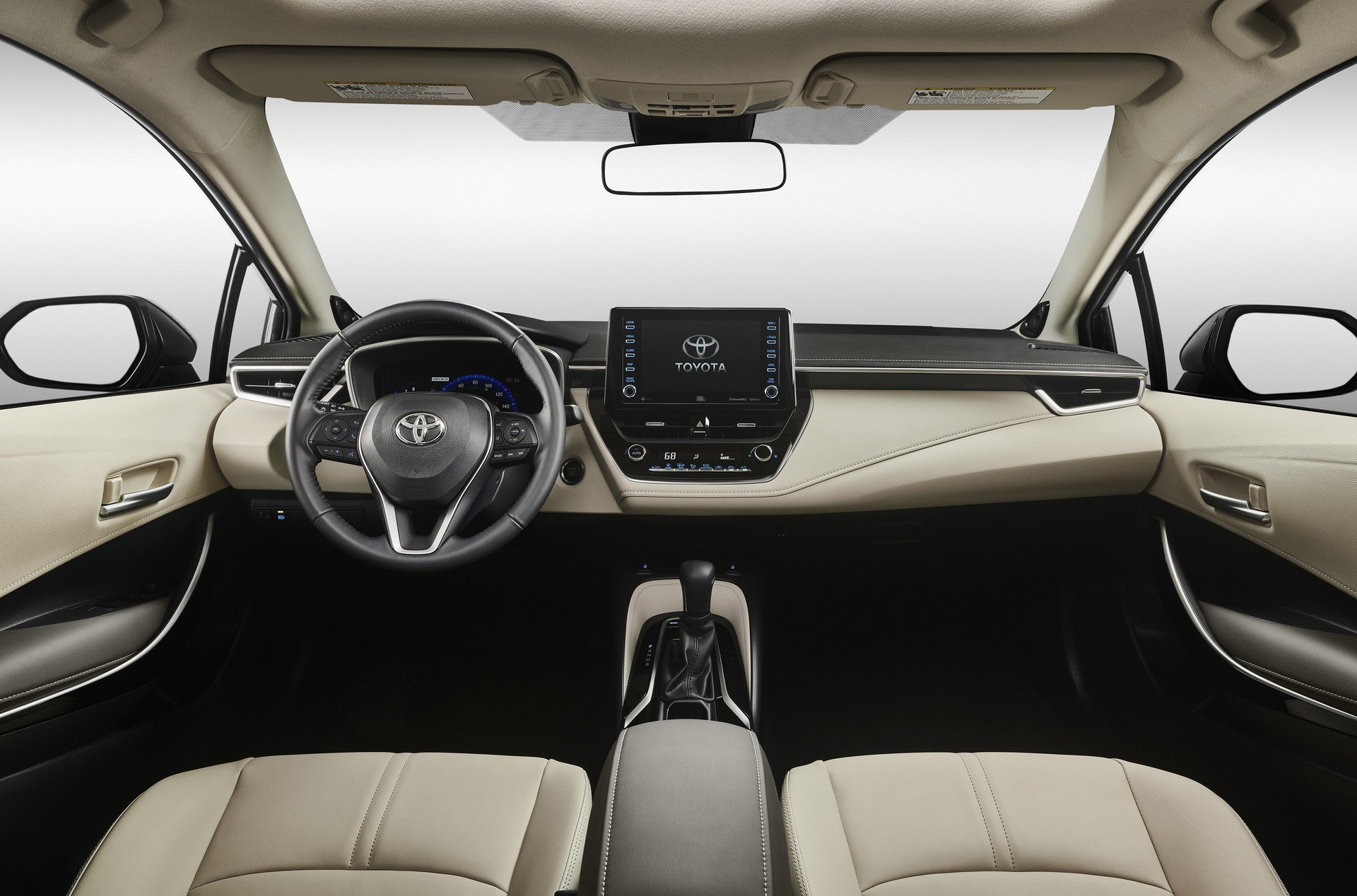 Toyota Camry 2018 Interior >> Photo Comparison: 2020 Toyota Corolla Sedan vs. 2014 Toyota Corolla Sedan - autoevolution
