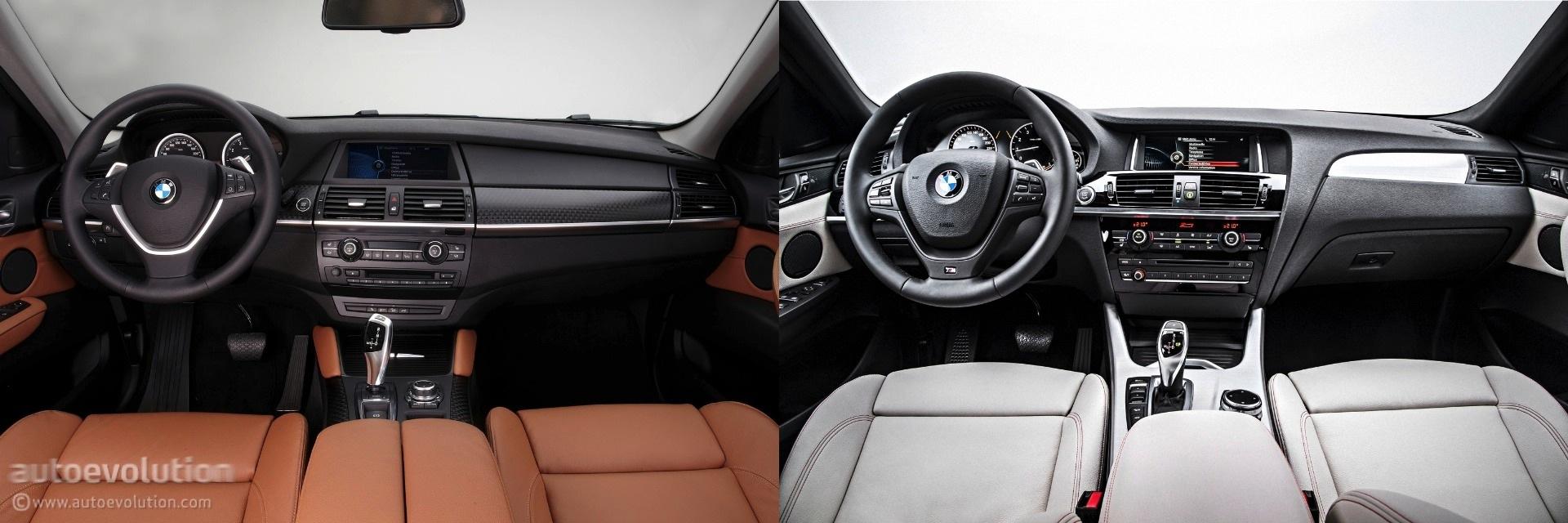 Photo Comparison Bmw F26 X4 Vs Bmw E71 X6 Autoevolution