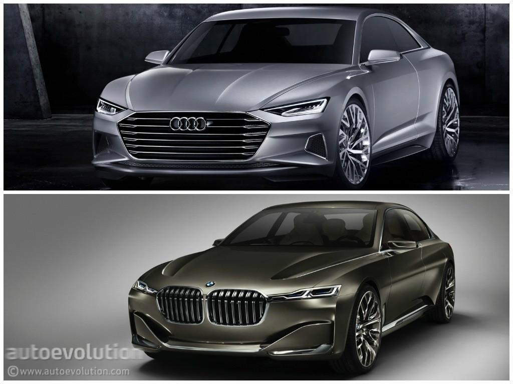 Photo Comparison: BMW Vision Future Luxury Concept versus ...