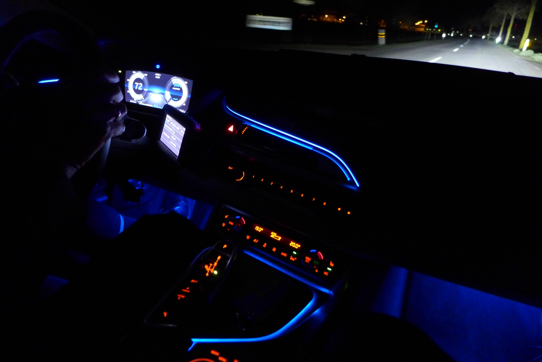 2015 Bmw M4 Interior Night