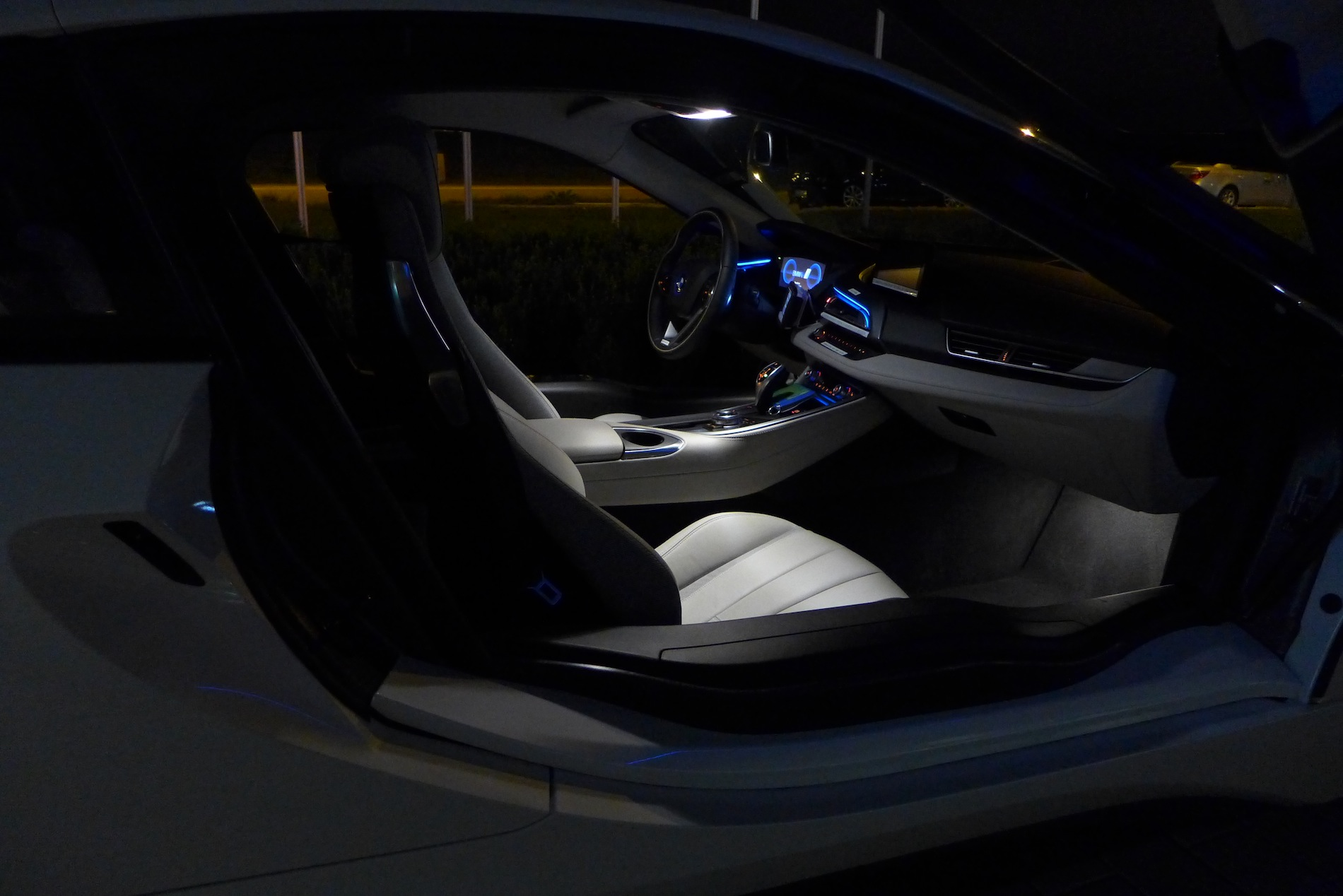 Photo Gallery Bmw I Interior At Night