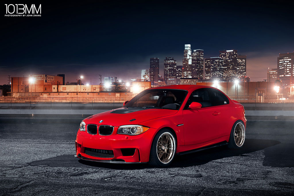 Photo Shoot Bmw 1m On Hre Wheels Autoevolution