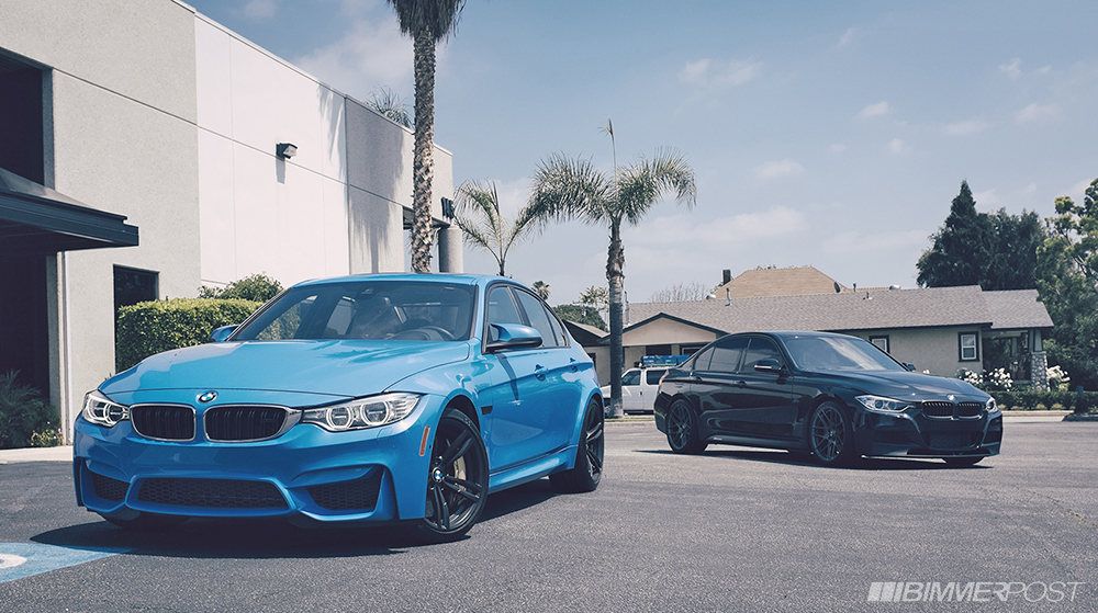 M4 Sport Bmw >> Photo Shoot: BMW F80 M3 Next to M Sport F30 3 Series - autoevolution