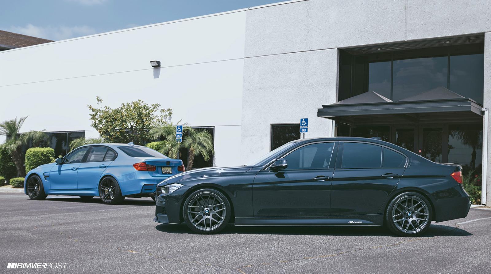 BMW M3 vs F30 M Sport