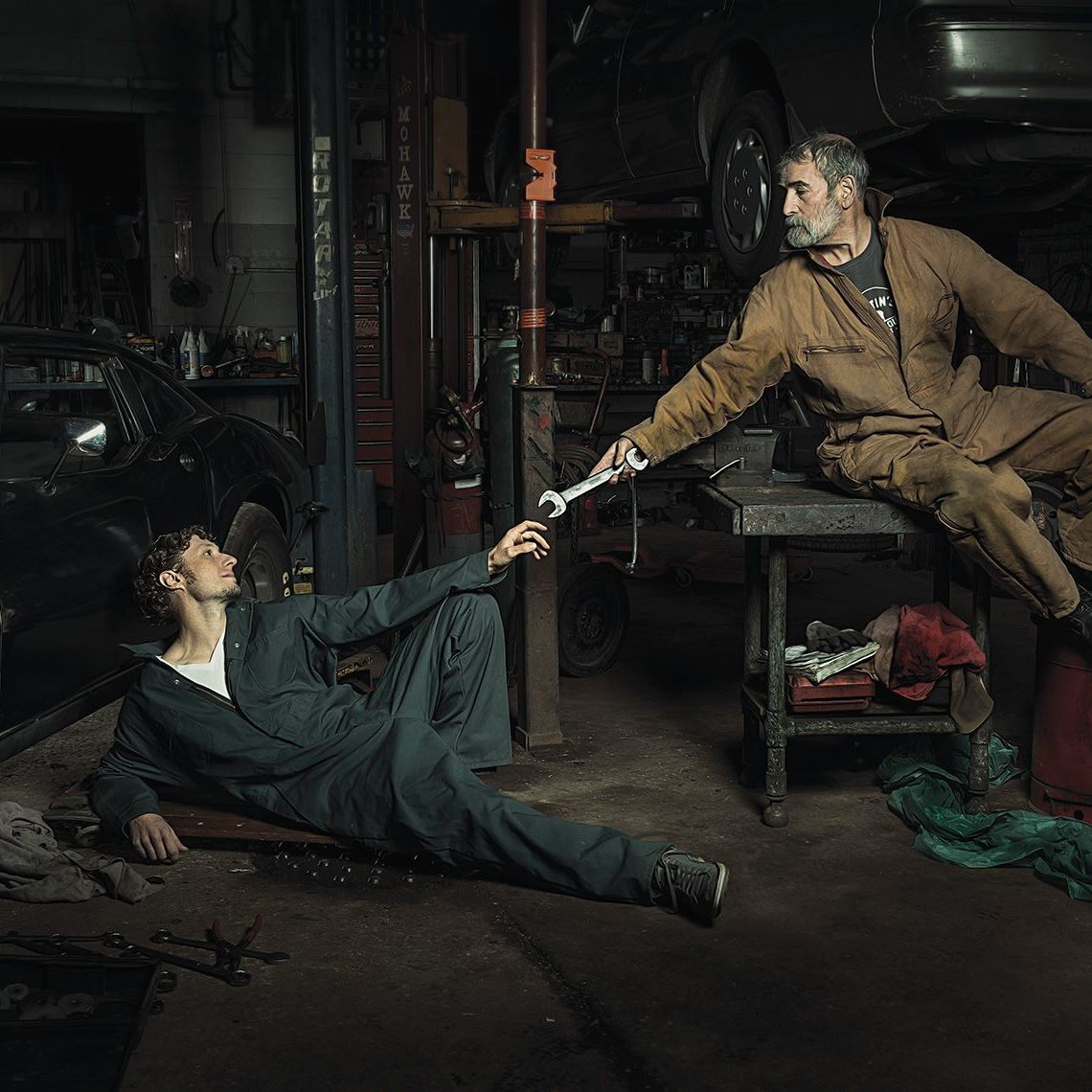 Photographer Recreates Renaissance Paintings Using