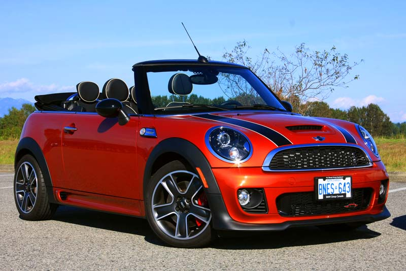 Picking the Perfect Convertible: MINI JCW or 500 Abarth ...