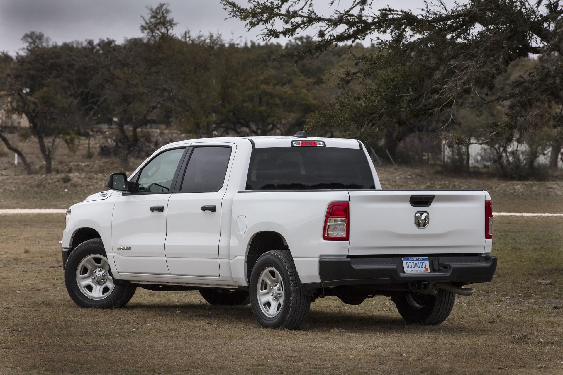 Pickup Truck Comparison Test: 2019 Ram 1500 vs  Chevy