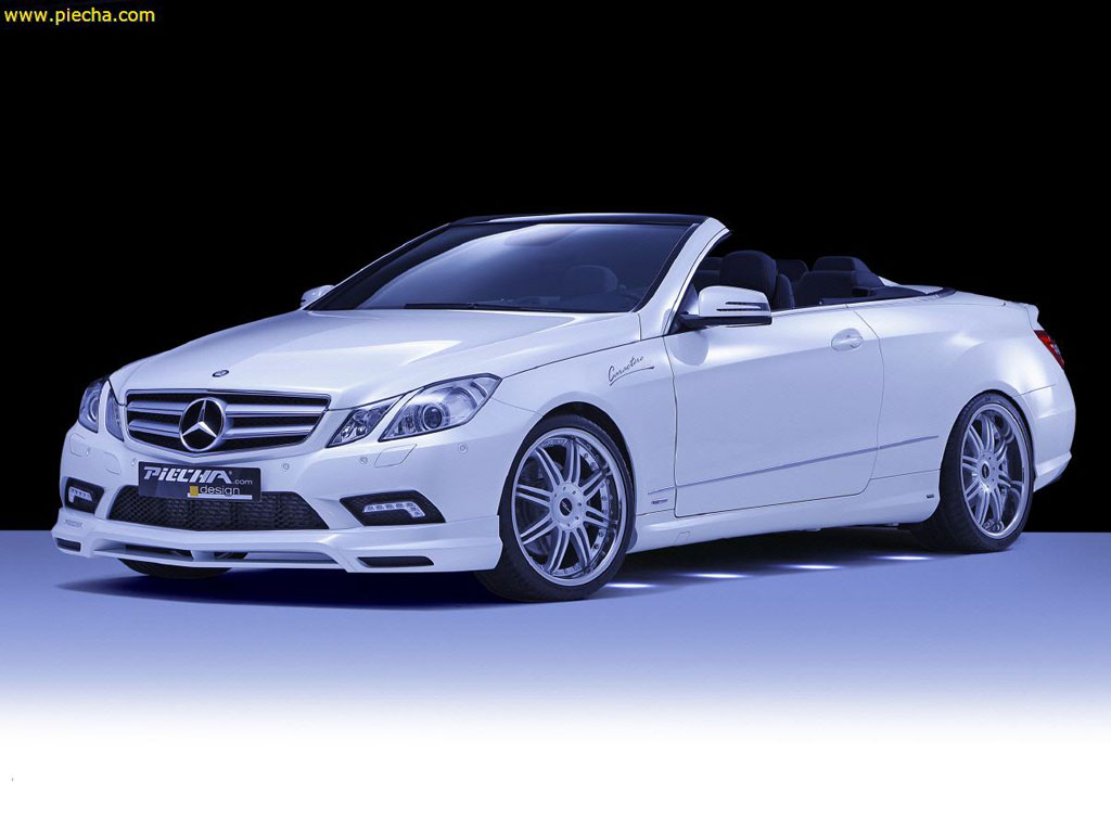 piecha mercedes benz e klasse cabrio released autoevolution. Black Bedroom Furniture Sets. Home Design Ideas