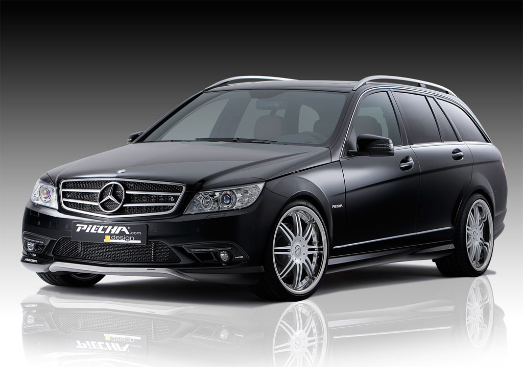 piecha mercedes c klasse estate revealed autoevolution. Black Bedroom Furniture Sets. Home Design Ideas