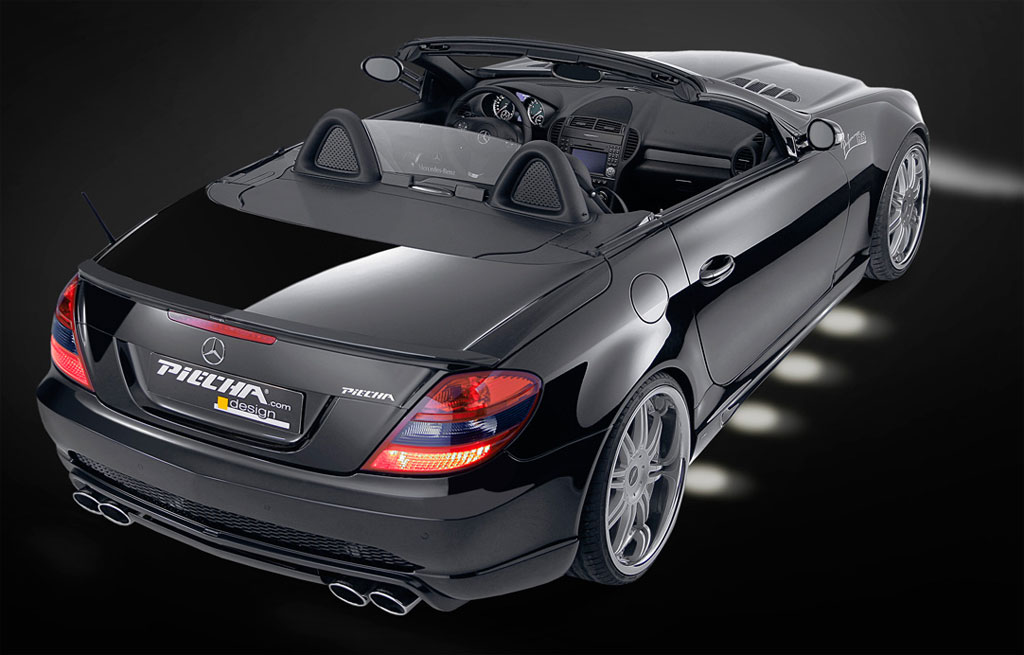piecha touches the mercedes slk autoevolution. Black Bedroom Furniture Sets. Home Design Ideas