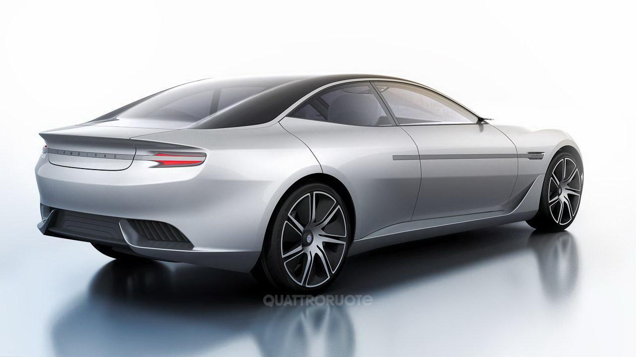 Pininfarina Cambiano Concept Photos Leaked Autoevolution