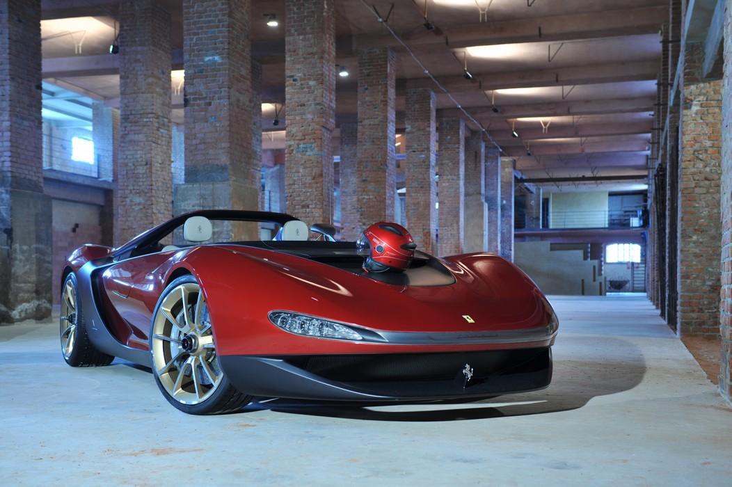 Pininfarina Unveils Ferrari Based Sergio Concept Video