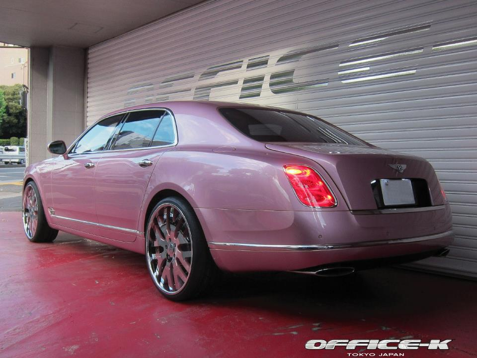 Pink Bentley Mulsanne Gets Forgiato 24s From Office K