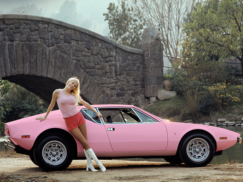 Detomaso Pantera For Sale >> Pink Cars and Retro Girls Will Remind You of the Playboy Lifestyle - autoevolution