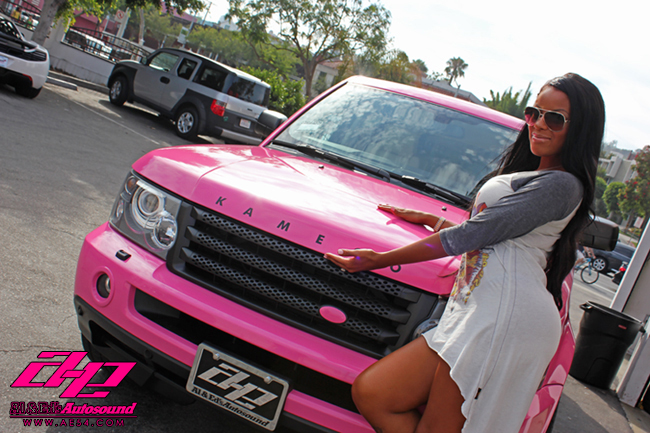Pink Range Rover Sport By Al Amp Ed Autoevolution