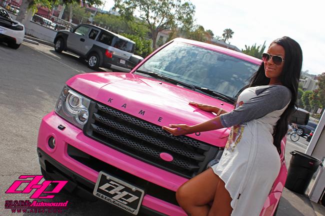 Pink Range Rover Sport By Al Amp Ed Autoevolution