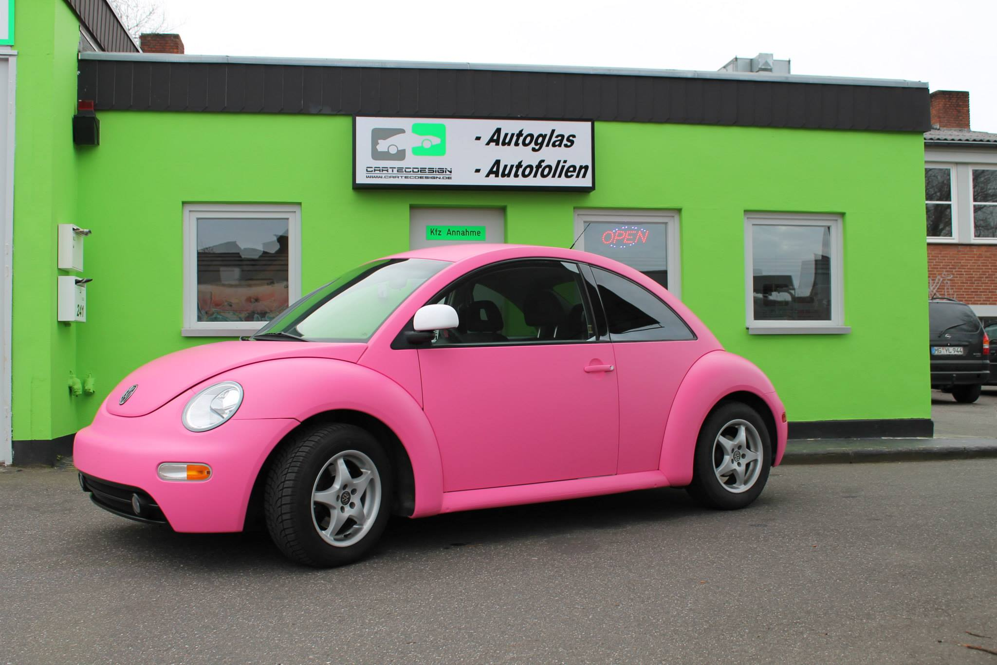 Pink Vw Beetle A Joyful Cliche Photo Gallery