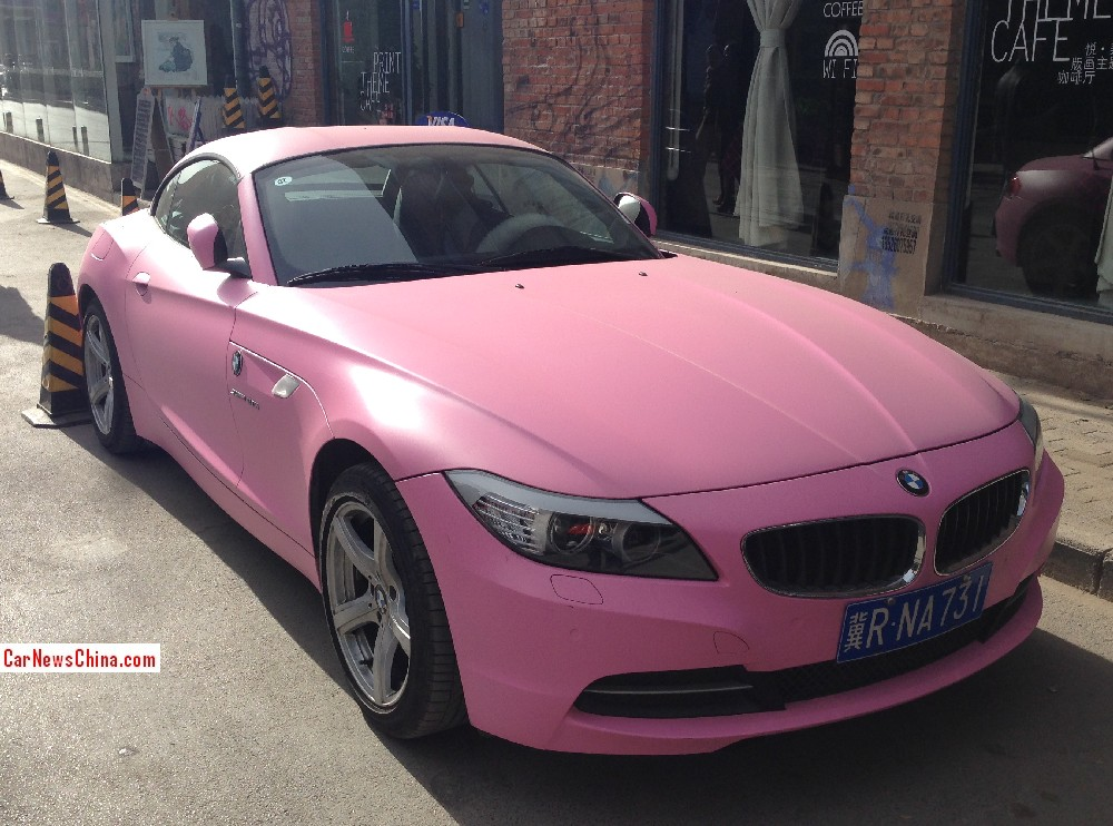 Used Bmw Z4 >> Pink Z4 from China Is Not the Cool Car We'd Like - autoevolution