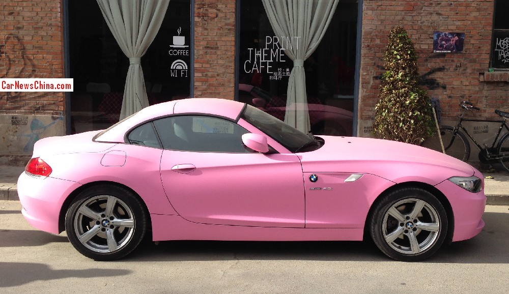Pink Z4 From China Is Not The Cool Car We D Like Autoevolution