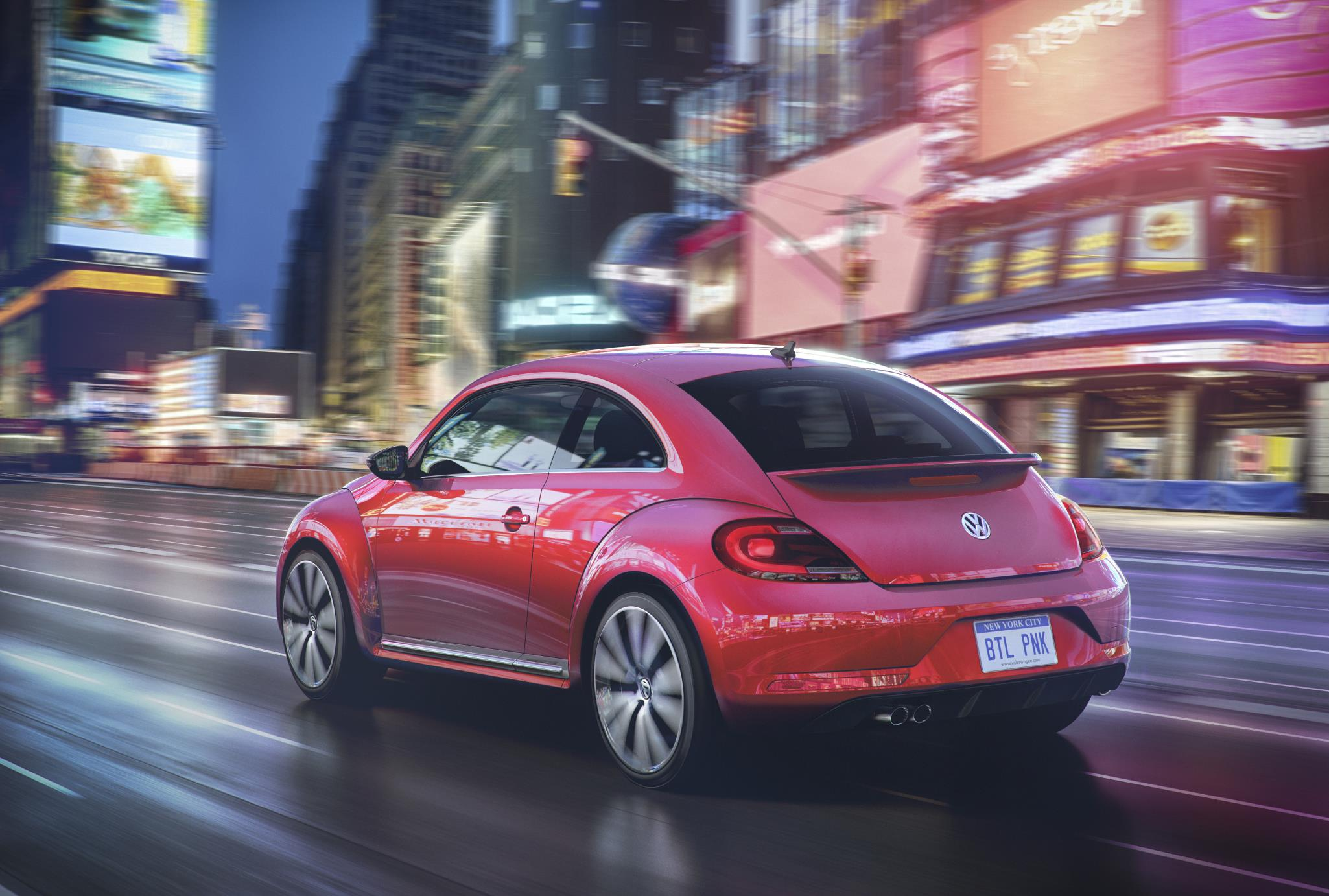 2017 Volkswagen Beetle Spawns #PinkBeetle Special Edition - autoevolution