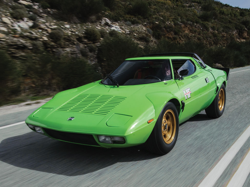 Pistachio Green Suits This Lancia Stratos Hf Stradale