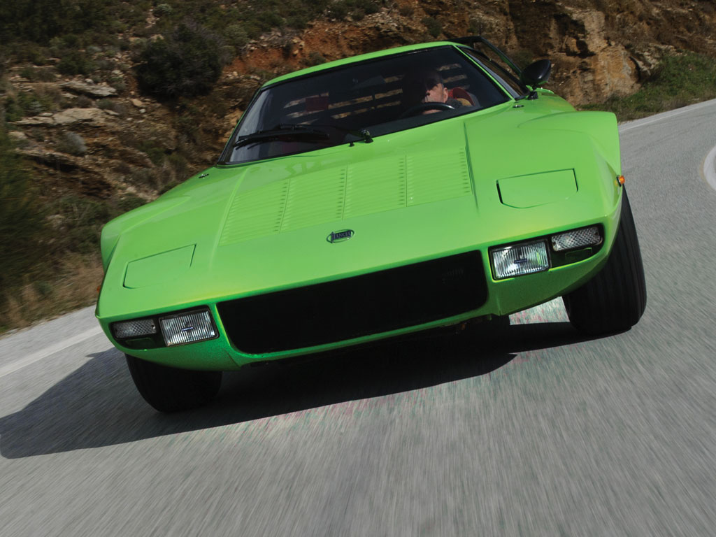 Pistachio Green Suits This Lancia Stratos Hf Stradale