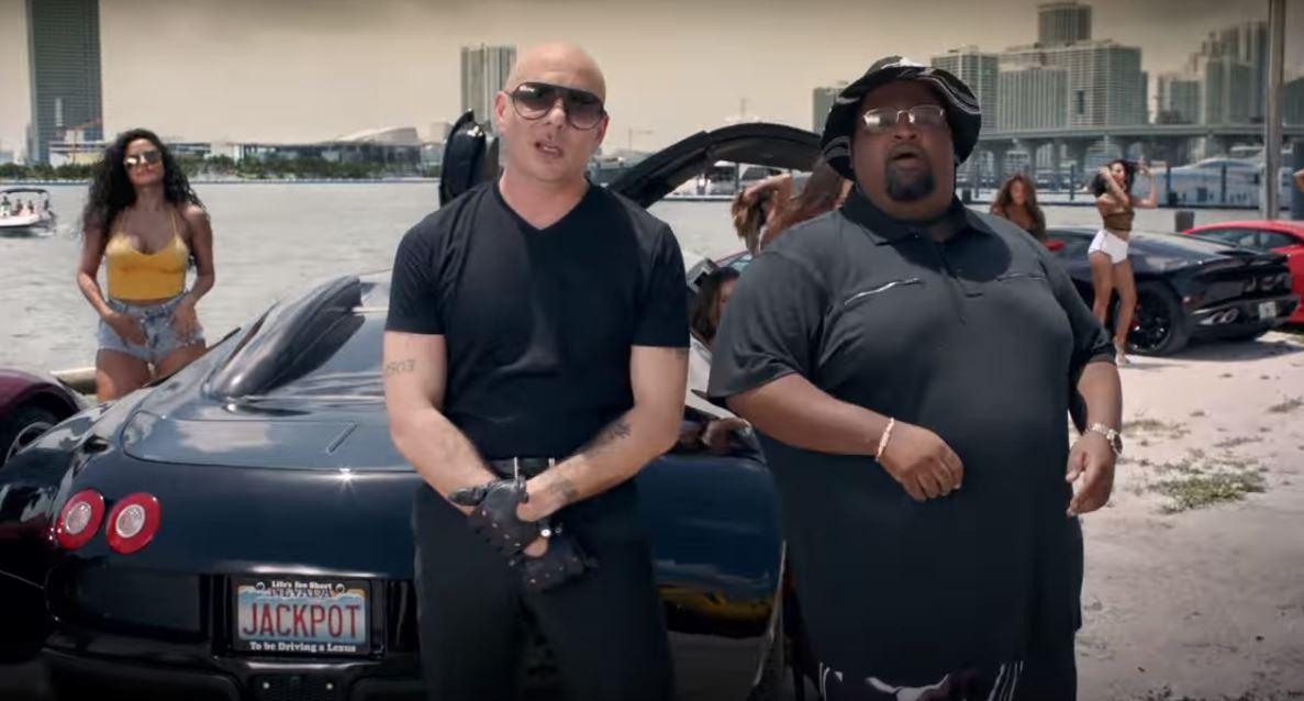 Pitbull Greenlight Music Video Has Bugatti Veyron Stretch ...