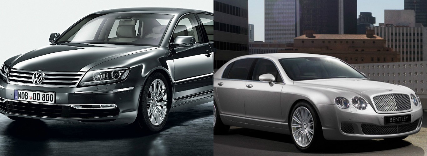 2016 Volkswagen Phaeton And 2009 2017 Bentley Continental Flying Spur