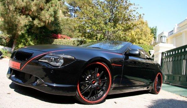 Platinum Motorsport BMW 650i Convertible Is a Black Beauty ...
