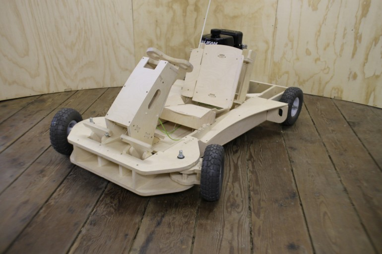 Plyfly Wooden Kart Is Good For 25 Mph Assembles In A Few Hours