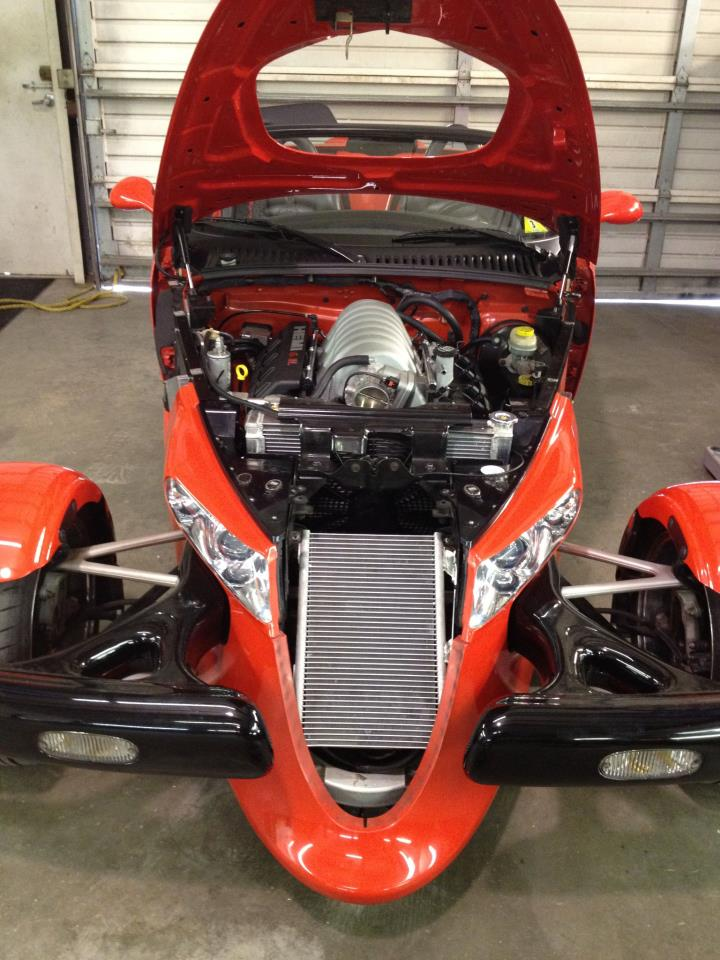 Plymouth Prowler Gets 6.1-liter Hemi V8: Project Growler ...
