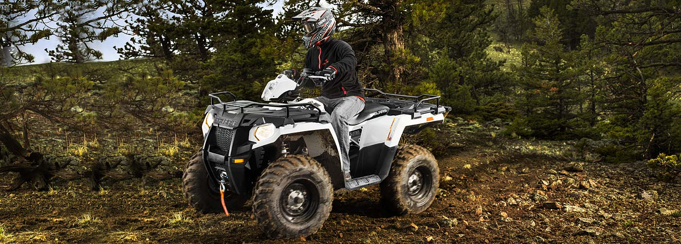 Polaris Adds Power Steering to the 2014 Sportsman 570 EFI ...