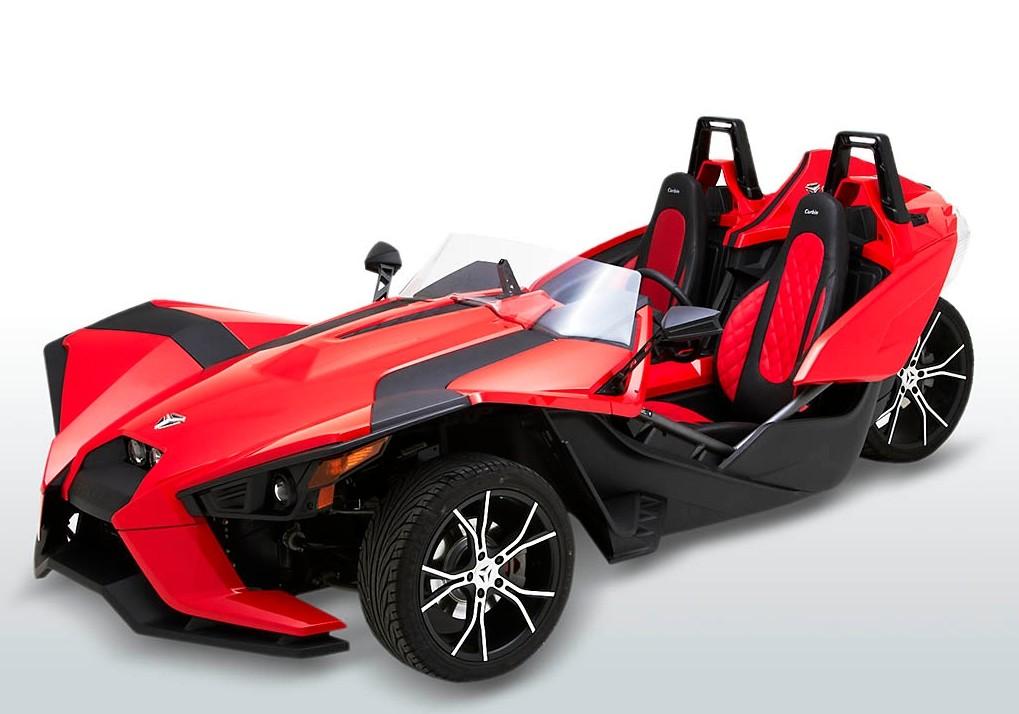 polaris slingshot receives sport bucket seats autoevolution. Black Bedroom Furniture Sets. Home Design Ideas