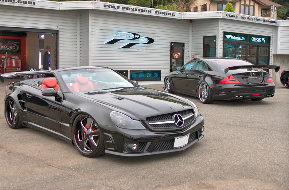 pole position tuning mercedes sl and cls released autoevolution. Black Bedroom Furniture Sets. Home Design Ideas